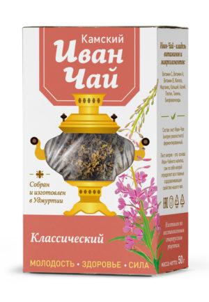 Иван-Чай Камский Классический без добавок