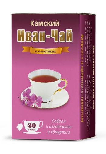 Иван-чай в пакетиках для чашек